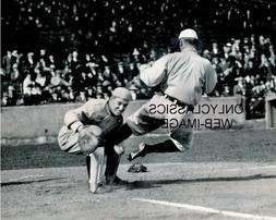 1912 TY COBB GOING IN FEET FIRST CLEATS UP 8X10 PHOTO DETROI