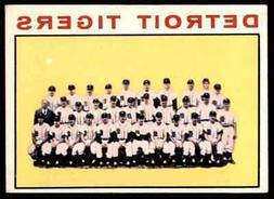 1964 TOPPS DETROIT TIGERS TEAM CARD #67  SET BREAK BLR5R1