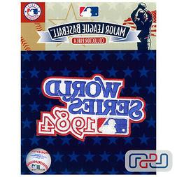 1984 World Series Detroit Tigers Official Game MLB Sleeve Je