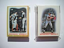 1986 & 1987 Topps Detroit Tigers Team Set LOT  Near Mint