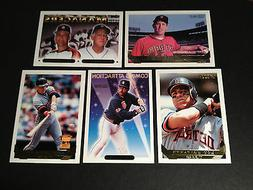 1993 topps gold foil parallel detroit tigers