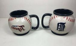 2 Detroit Tigers MLB Coffee 15oz Mugs Boelter Brands Major L