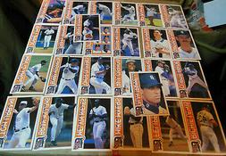 Game Day Promo Detroit Tigers Baseball Card Sets From 1996!