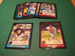 2003 Bowman Gold Parallel Detroit Tigers Team Set With Draft
