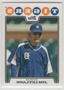 2008 Topps Baseball Detroit Tigers Team Set