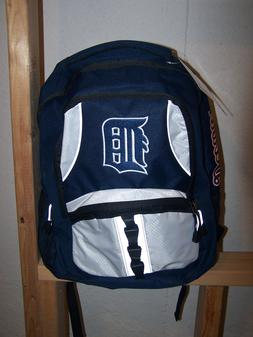 2017 MLB Detroit Tigers Navy Blue Captain Backpack