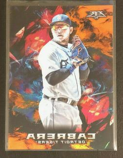 2018 topps fire orange parallel 142 miguel