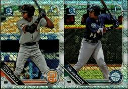 2019 BOWMAN CHROME MEGA BOX MOJO REFRACTOR RC SINGLES SP - Y