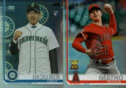 2019 TOPPS SERIES 2 RAINBOW FOIL #500-700 SINGLES W/ RC  YOU