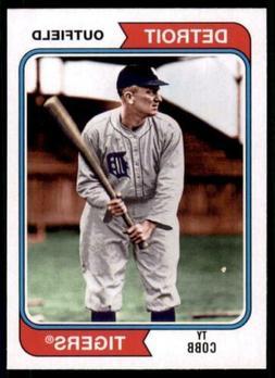2020 Archives Base #136 Ty Cobb - Detroit Tigers