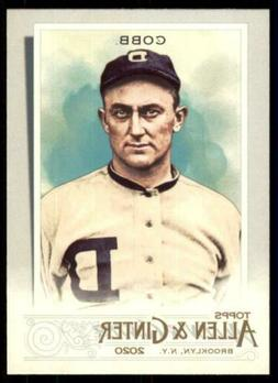 2020 Topps Allen and Ginter Base #74 Ty Cobb - Detroit Tiger