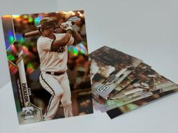 2020 Topps Chrome Sepia Refractor Parallel Singles You Pick