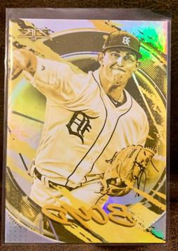 2020 Topps Fire Gold Minted Parallel #101 Matthew Boyd Detro