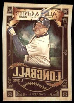 2020 Topps Allen and Ginter Longball Lore #LL-9 Miguel Cabre