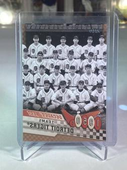 2020 TOPPS Series 2 Gold PARALLEL DECADES BEST 1950's DETROI