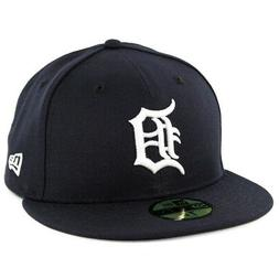 New Era 59Fifty Detroit Tigers HOME Fitted Hat  MLB Cap
