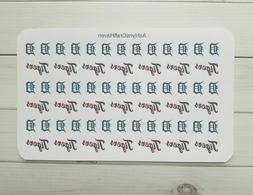 60 detroit tigers baseball planner stickers perfect