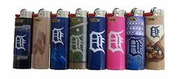BIC 8pc Set MLB Compatible with Detroit Tigers Officially Li