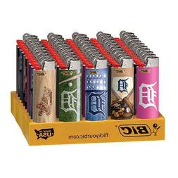 8x BIC Detroit Tigers Lighters - Mix N Match - Convenient Re