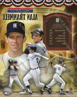 Alan Trammell Detroit Tigers 2018 MLB Hall of Fame Official