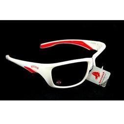 BOSTON RED SOX SUNGLASSES POLARIZED WHITE FRAME MLB UV 400 P