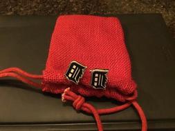 brand new detroit tigers logo cufflinks