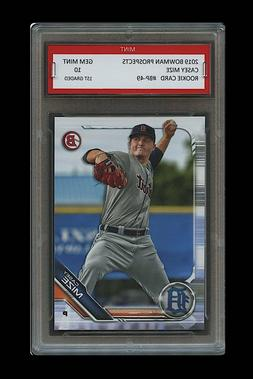 CASEY MIZE 2019 BOWMAN PROSPECTS Topps 1ST GRADED 10 ROOKIE
