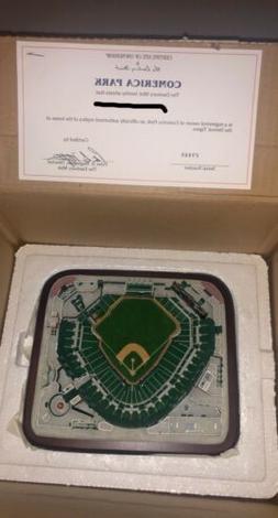 Danbury Mint Comerica Park Detroit Tigers MLB New In Box/Nev