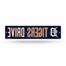 "Detroit Baseball Tigers Drive 16"" Street Sign Fan Wall Decor"