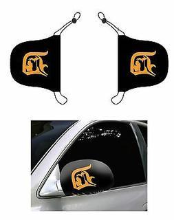 Detroit Old English D, Car Mirror Cover, Auto Flag, Detroit