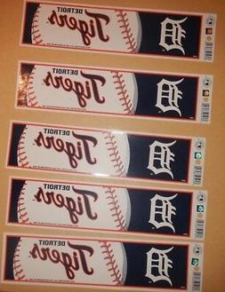 """Detroit Tigers 11"""" BY 3 """" NHL BUMPER STICKERS"""