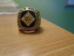 Detroit Tigers 1984 World Series Championship Ring  SZ 11 TR