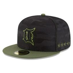 Detroit Tigers New Era 2018 Memorial Day On-Field 59FIFTY Fi