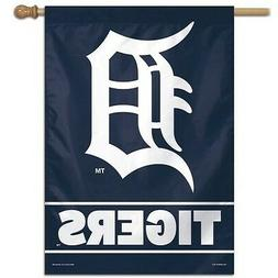 "DETROIT TIGERS 28""X40"" HOUSE FLAG OR WALL BANNER OUTDOOR RAT"