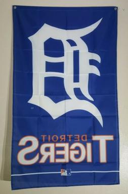 Detroit Tigers 3x5 Ft Flag Banner Man Cave Wall Decor Gift M