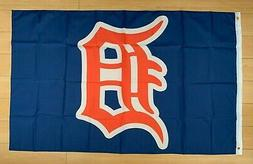 Detroit Tigers 3x5 ft Flag MLB