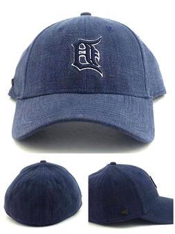 Detroit Tigers New Era 49Forty Vintage Black Label Blue Fran