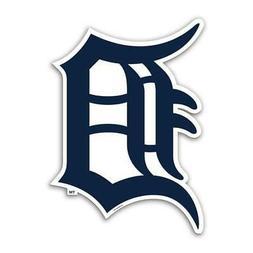 Detroit Tigers Alternate 12 Inch Car Magnet  MLB Decal Emble
