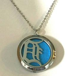 DETROIT TIGERS  AROMATHERAPY PENDANT  316 L Stainless Steel