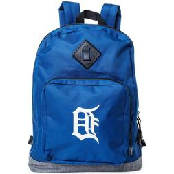 Detroit Tigers Backpack With Front Pocket Zipper 17X12X6 MLB