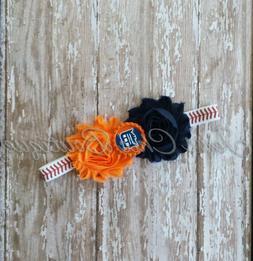 Detroit Tigers baseball elastic infant, toddler,or adult siz