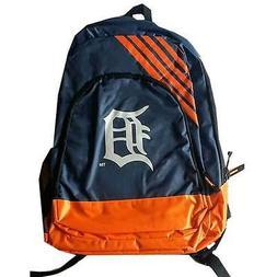 Detroit Tigers Baseball Team Logo MLB Border Stripe Backpack