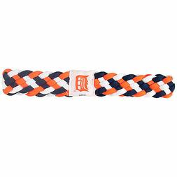 NEW DETROIT TIGERS BRAIDED HEADBAND HAIR ACCESSORY LICENSED