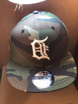 Detroit Tigers CAMO HAT snapback new era 9Fifty camouflage C