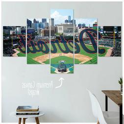 Detroit Tigers Canvas Artwork