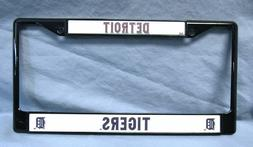 Detroit Tigers Chrome License Plate Frame Tag Cover Car/Auto