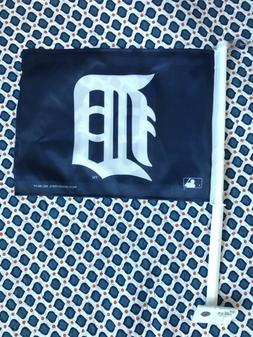 detroit tigers clip on car flag opening