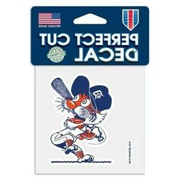 DETROIT TIGERS COOPERSTOWN COLLECTION VINYL PERFECT CUT DECA