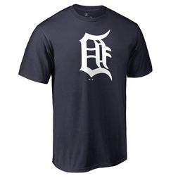 Detroit Tigers D Logo Short Sleeve T - Shirt MLB Baseball Ve