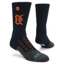 Detroit Tigers Stance Diamond Pro Crew Socks - Navy